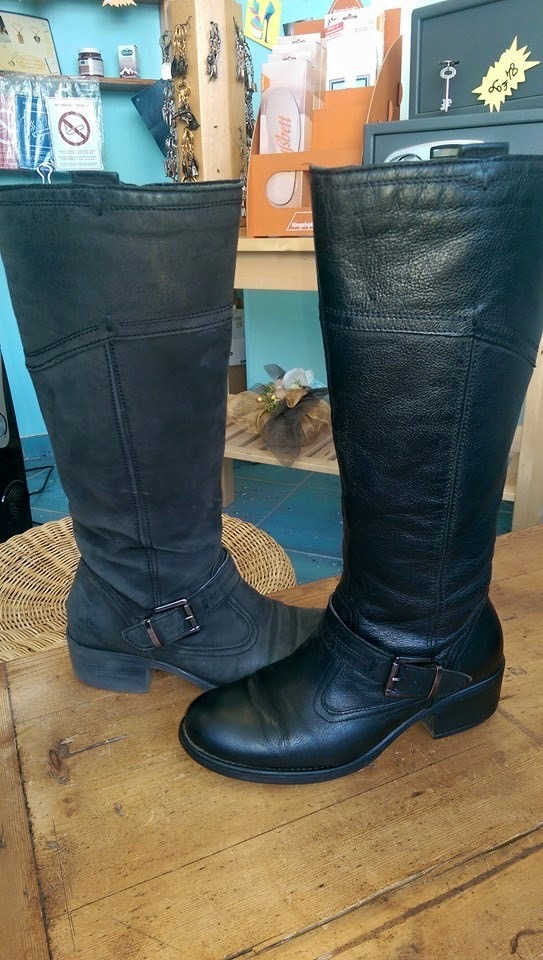 Rénovation et réparation de chaussures, cirage, nettoyage, réparation de semelles