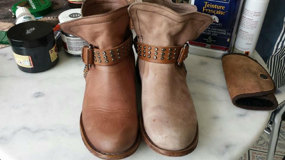 Rénovation et entretien de chaussures en cuir